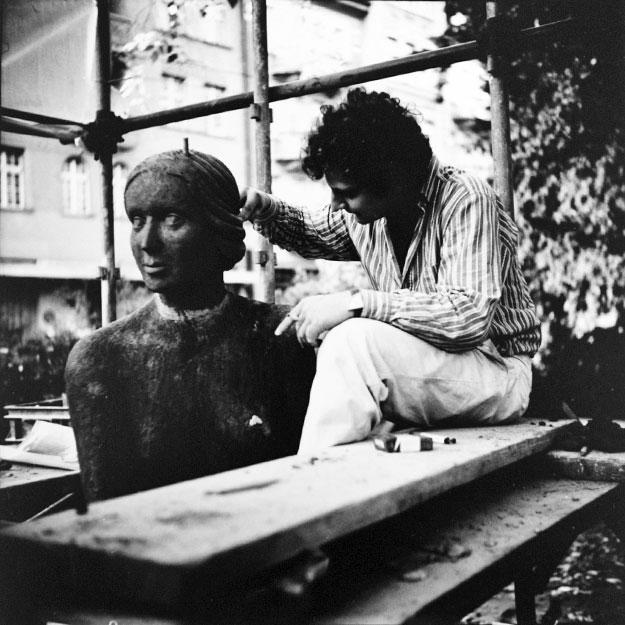 Restauration Skulptur Bildhauer-Atelier Kurzweg