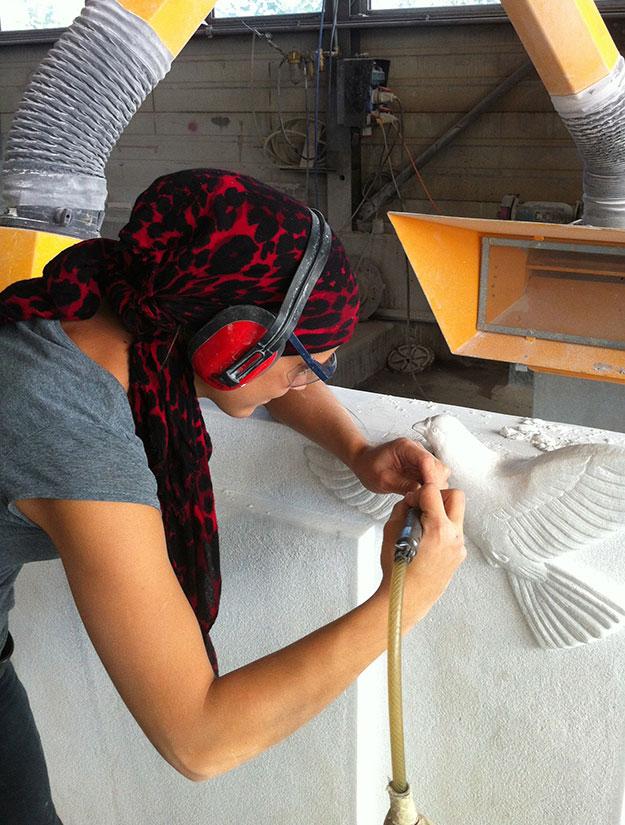 Bildhauerin
