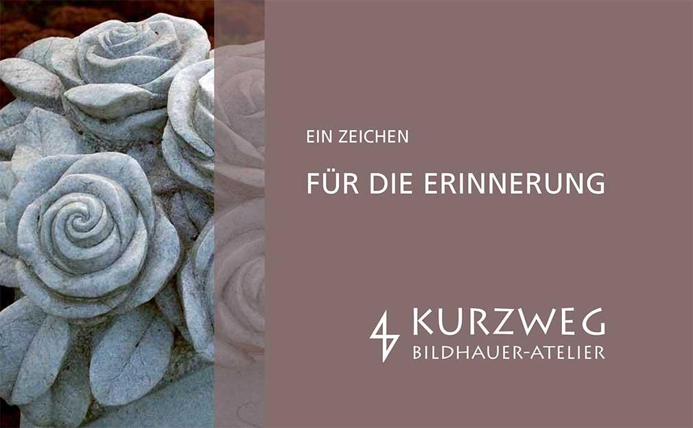 Broschüre Bildhauer-Atelier Kurzweg