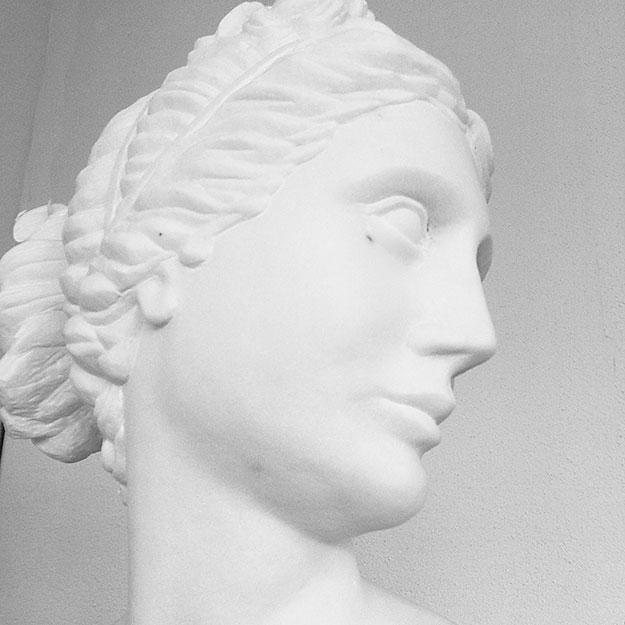 Büste aus Marmor - Bildhauer-Atelier Kurzweg
