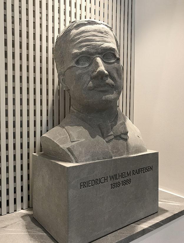 Büste Friedrich Raiffeisen